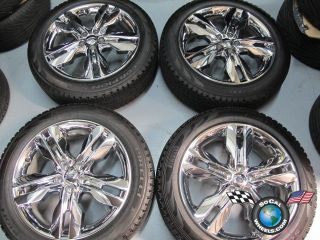 Ford Edge Factory Chrome Clad 20 Wheels Tires OEM Rims 3847 245/50/20