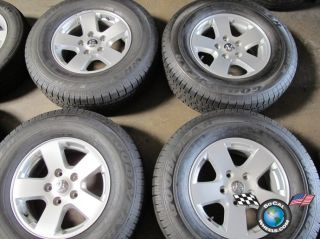 09 10 Dodge Ram 1500 Factory 17 Wheels Tires Durango OEM Rims 2362