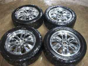 Sierra Silverado Escalade 20 Wheels Rims w Tires