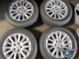 2010 Cadillac CTS Factory 17 Wheels Tires Rims OEM 4668 9597611