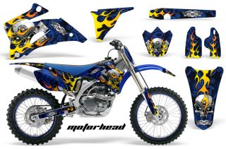 AMR Racing Sticker Decal Graphic Background Kit Yamaha YZ450 YZ YZ250