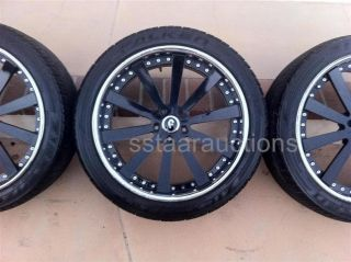 Forgiato 22 Concavo 3 Piece Wheels Tires 285 40 22