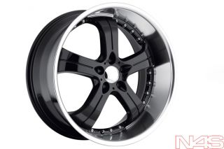 MRR GT4 BMW E63 E64 645 650 CONCAVE BLACK STAGGERED WHEELS NEXEN TIRES