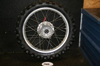 Yamaha TTR230 Rear Wheel Hub Rim Spokes
