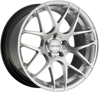 20x9 10 Avant Garde 350 Staggered Wheels 5x114 3 Rims