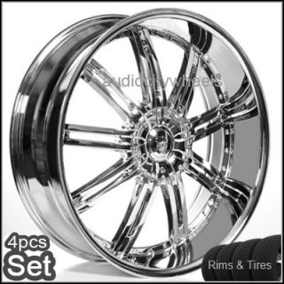 22inch Wheels and Tires Rims 300C Magnum Charger S10