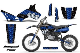 AMR Racing Motocross Background Number Plate Decal Wrap Yamaha YZ 80