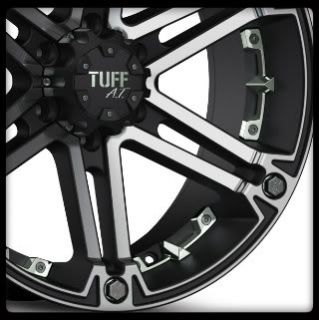 Yukon Colorado Tacoma Safari Sorento 5 6 Lug Black Wheels Rims