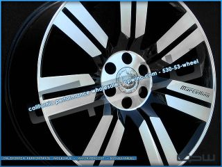 Tire Package for Cadillac Escalade Rims Tires Marcellino New