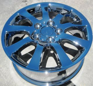 FACTORY LEXUS ES300 ES330 ES350 CHROME WHEELS RIMS CAMRY   SET OF 4