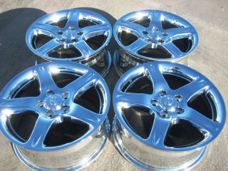 GS430 Camry GS300 IS300 ES330 ES350 Chrome Wheels Rims Set of 4