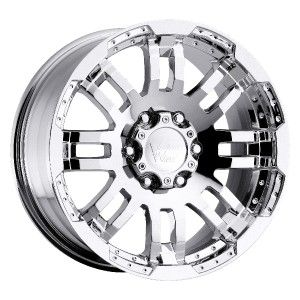 16 inch Vision Warrior Chrome Wheels Rims 6x130 45