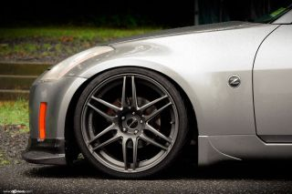 20 Nissan 350Z Avant Garde M368 Concave Staggered Rims Wheels