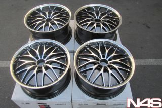 19 BMW E90 325 328 335 3 Series Roderick RW1 Concave Staggered Rims