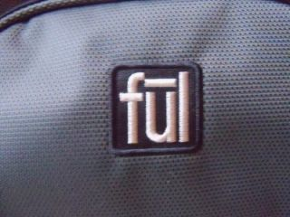 Ful Rolling Duffel Bag 21 Wheeled Carry on Luggage Grey and Blue New