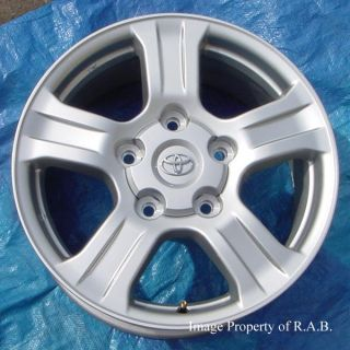 Toyota Tundra Sequoia LX470 original equipment alloy wheels & new SNOW