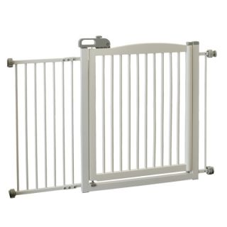 Richell USA One Touch 150 Pet Gate   Gates   Gates & Doors