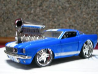 1966 Ford Mustang prostreet hotrod ratrod 1/24 scale car 65 64