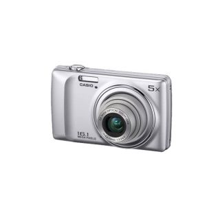 Casio Exilim QV R300 Digitalkamera 16,1MP, 6,9 cm Display silber