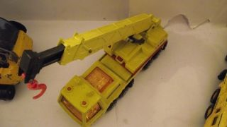 Matchbox Super King Size K12 K113 Hercules Laing Crane unboxed used