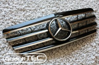 GRILL KÜHLERGRILL MERCEDES BENZ W210 99  BLACK CL LOOK