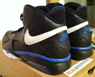 Nike Air Maestro Flight Scottie Pippen Bulls Black Blue Foamposite
