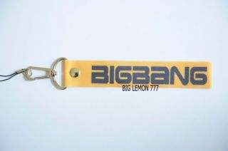 BIGBANG Big Bang Yellow Wrist Strap Lanyard for Cell Phone O3