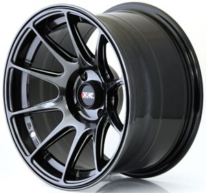 XXR 527 15 x 8.25J 4x100 ET0 BLACK CHROME MASSIVE WIDE RIMS ALLOYS