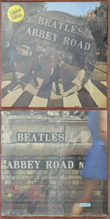 LP Beatles Abbey Road NEU still sealed PICTURE DISC