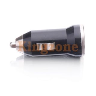 New Black Mini USB Car DC Power Charger Adapter for iPhone 3G 4 4S