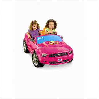 Fisher Price Power Wheels Barbie Mustang P8812