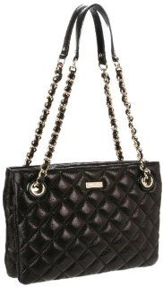 Spade New York Gold Coast Leighton Shoulder Bag,Black,One Size Shoes