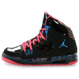 Jordan SC 1 (GS) Girls Basketball Shoes 439655 009 Black 6 M US Shoes