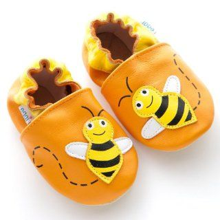 Eggi Soft Sole Busy Beez Crib Shoes (12 18 Months) Shoes