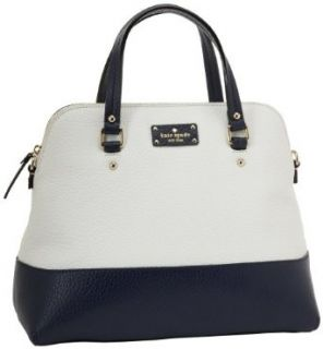 Kate Spade New York Grove Court Large Maise Satchel,Cream