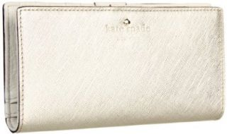 Kate Spade Mikas Pond Stacy Wallet,Gold,one size Shoes
