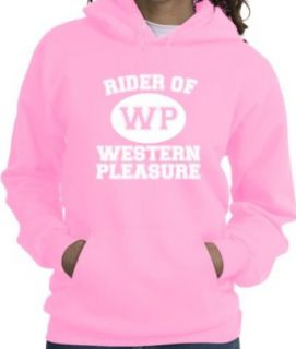 Western Pleasure Sport Horse Riders Pink Hoodie Clothing