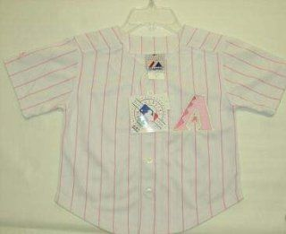 Arizona Diamondbacks MLB Pink Majestic Girls Youth
