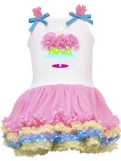 Baby Girls Infant Birthday Tutu Dress, Pink, 24 Months Clothing