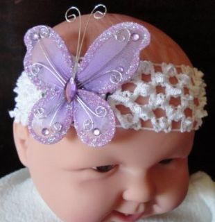 Tanday (Lavender) Butterfly Baby Girls & Toddler Headband