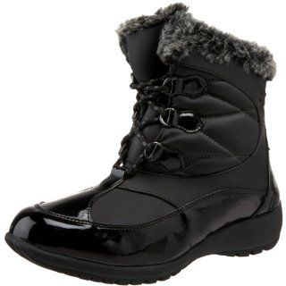 Sporto Womens Missy Faux Fur Boot,Black,6 M US Shoes