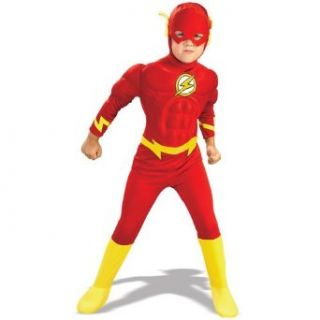Rubies Costume Co 21075 DC Comics The Flash Muscle Chest