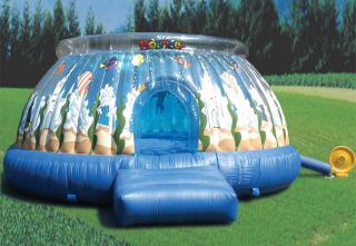 Round 13 ft Inflatable Bounce House