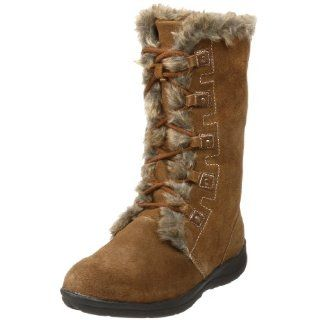 com White Mountain Womens Toba Faux Fur Boot,Chestnut,8 M US Shoes