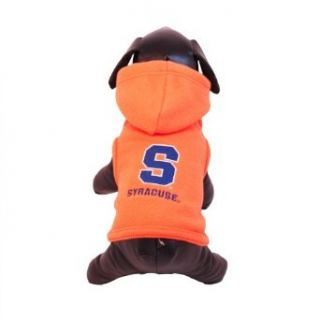 NCAA Syracuse Orange Polar Fleece Hooded Dog Jacket