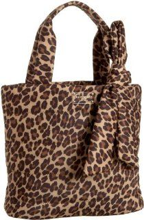 Kate Spade Puffer Leopard Evonne Tote,Leopard,one size Shoes