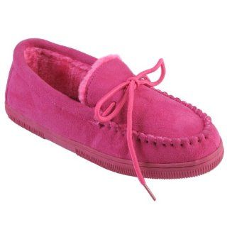 Brinley Co Womens Faux Suede Moccasin Slippers Shoes