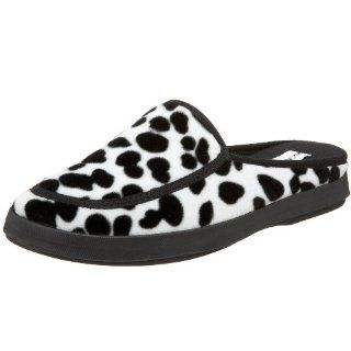 com Donald J Pliner Womens Relax2 Slipper,Black/White,5 M US Shoes
