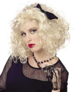 Ladies Madonna Costume Wig Clothing