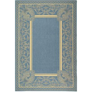 Indoor/ Outdoor Abaco Blue/ Natural Rug (710 x 11)